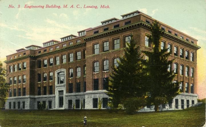 Engineering Building, circa 1917