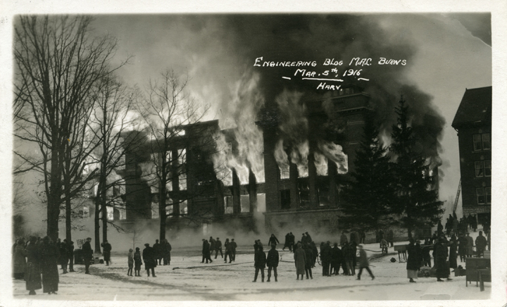 Engineering Building fire, 1916