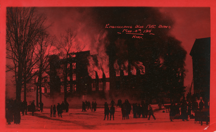 Engineering Building fire, 1916