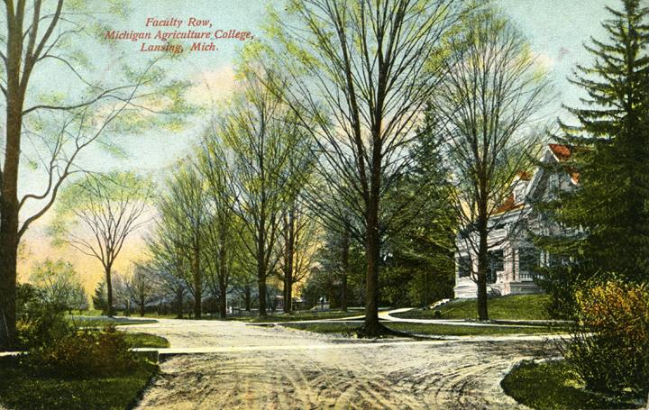 House of Faculty Row, ca. 1908