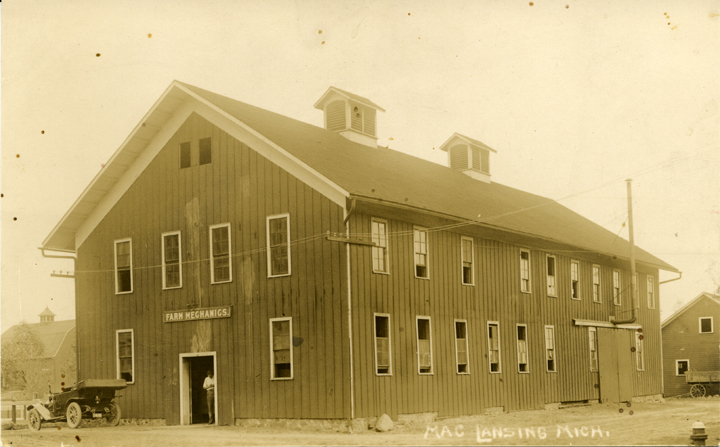 Farm Mechanics building