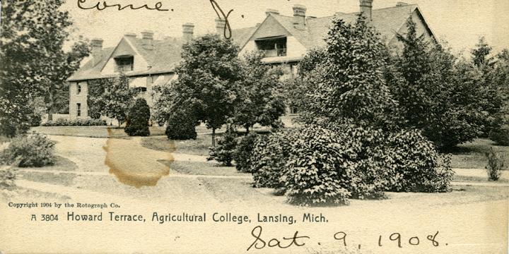 Howard Terrace, ca. 1904