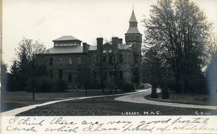 M.A.C. Library (Linton Hall), ca. 1907