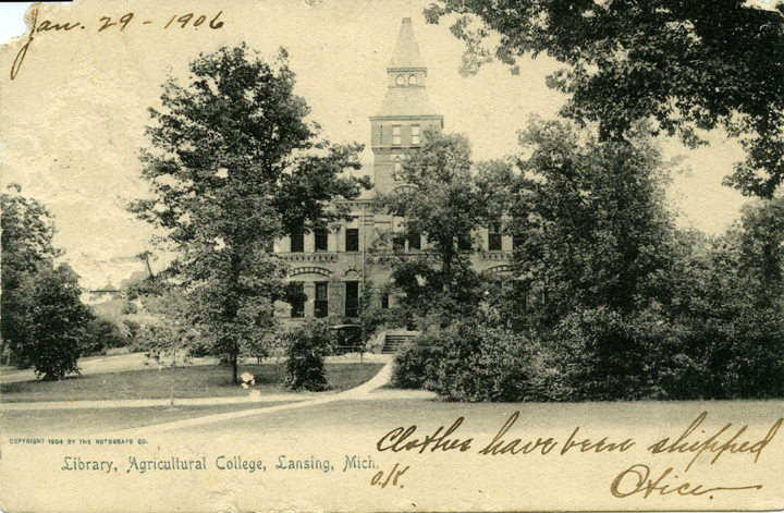 M.A.C. Library (Linton Hall), ca. 1904