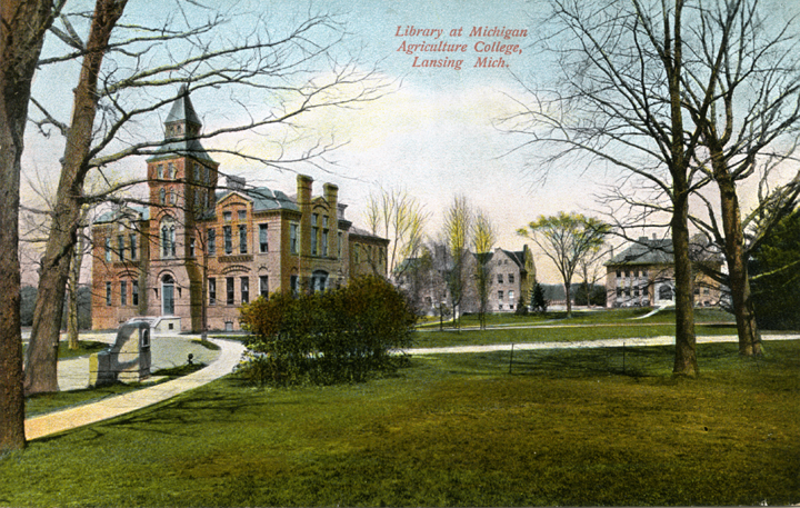 M.A.C. Library, Dairy and Botanical Laboratories