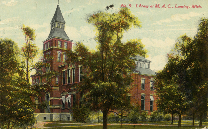 M.A.C. Library (Linton Hall), ca. 1910