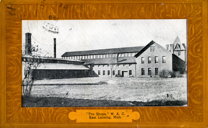 Engineering Shops, ca. 1909