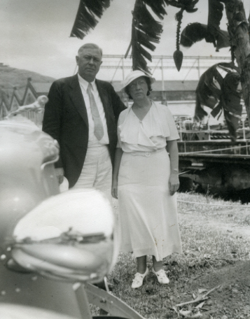 L. Alice and Forest Akers in Panama