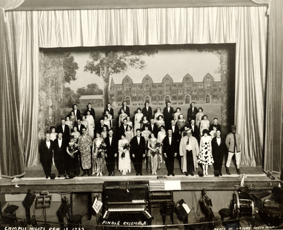 "1923 Cast of ""Campus Nights"""