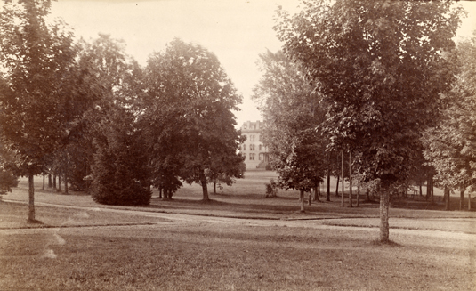 Arden Forest and Williams Hall, 1886