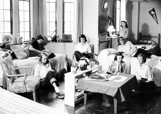 Women's Dorm, 1950