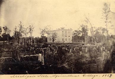 College Hall, circa 1858