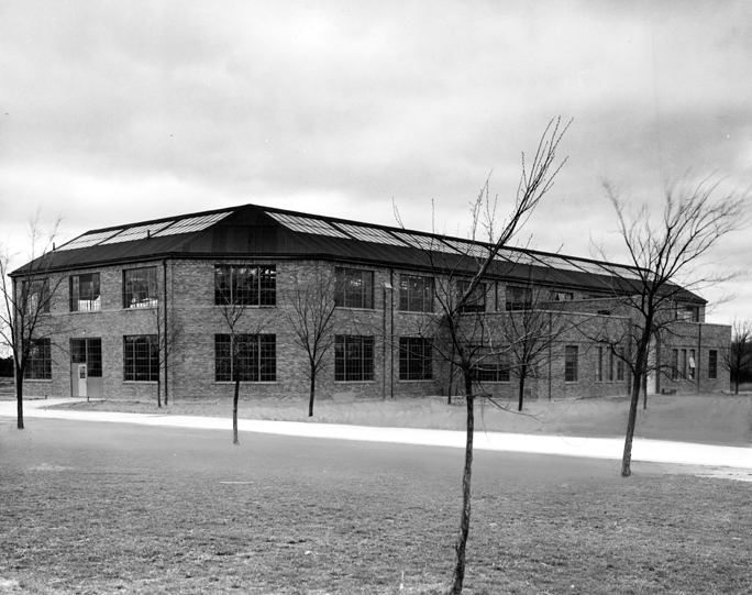 Livestock Judging Pavilion, circa 1938