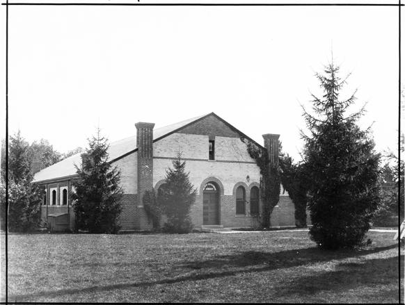 Armory Building, circa 1900