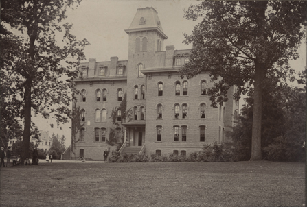 Williams Hall, circa 1900