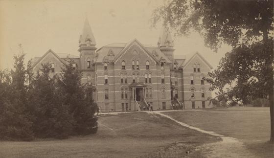 Wells Hall, 1888