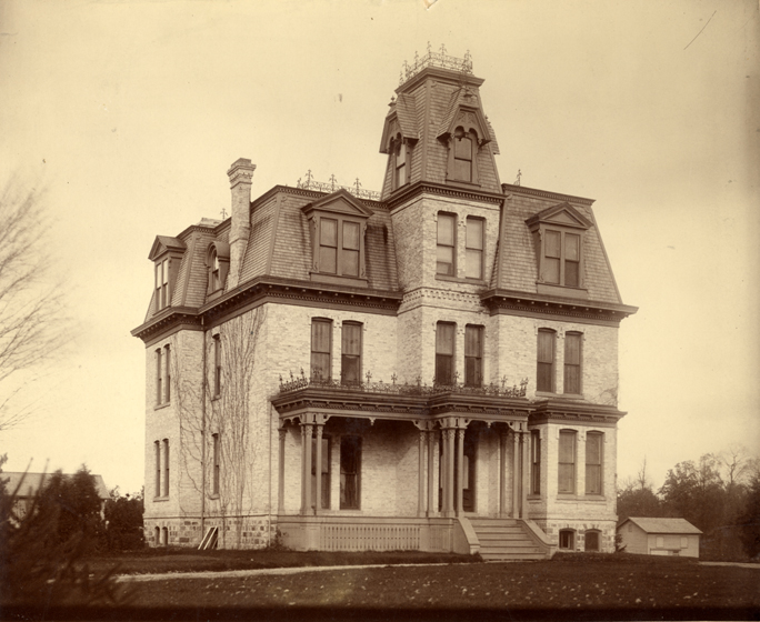 College President's Residence, circa 1900