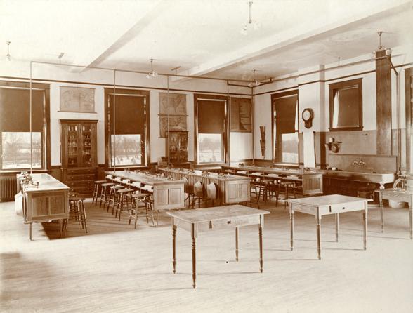 Domestic Science Laboratory, 1908