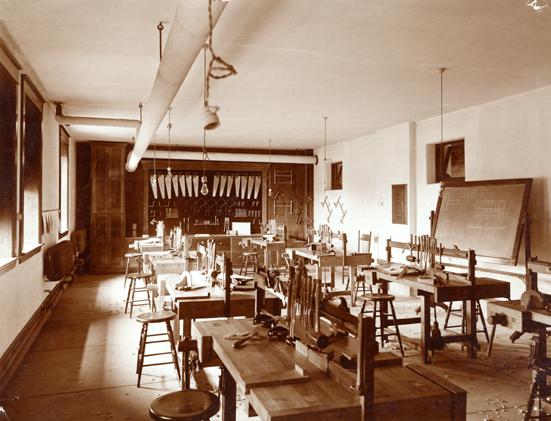Basement of Morrill Hall, circa 1901