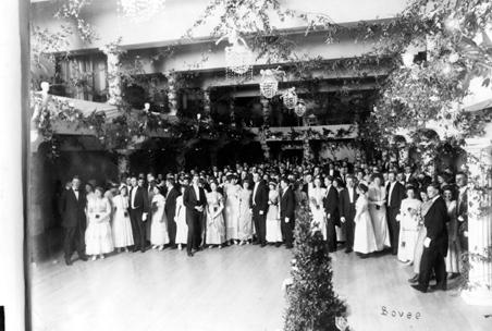 1912 J-Hop at the Masonic Temple