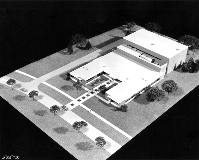 Architect model of the Cyclotron