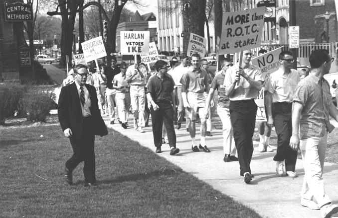 March Against Compulsory ROTC, 1960