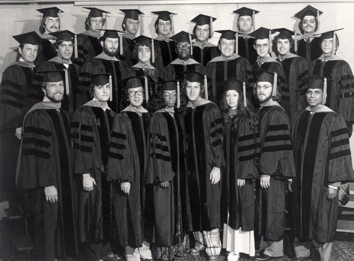 College of Osteopathic Medicine<br />Hooding Ceremony Class of 1973