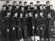College of Osteopathic MedicineHooding Ceremony Class of 1973