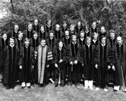 College of Osteopathic Medicine Hooding Ceremony Class of 1974