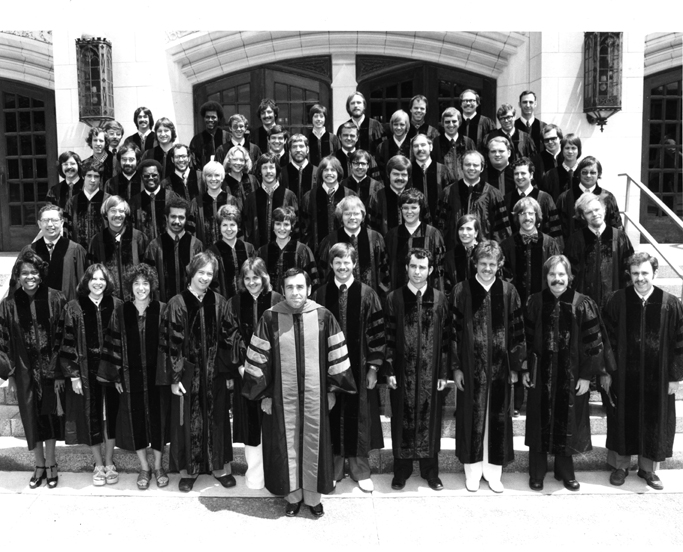 College of Osteopathic Medicine<br />Hooding Ceremony Class of 1975