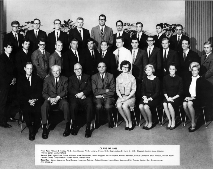 College of Human Medicine Class of 1969<br />