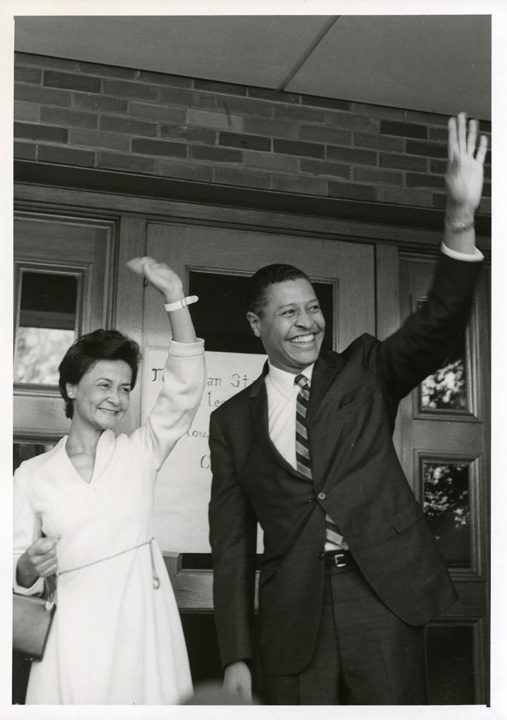 The Whartons arriving at MSU, 1969