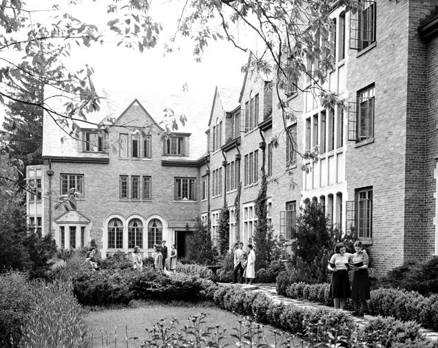 Mary Mayo Hall, 1940