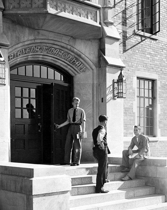 The Steps of Mason Hall