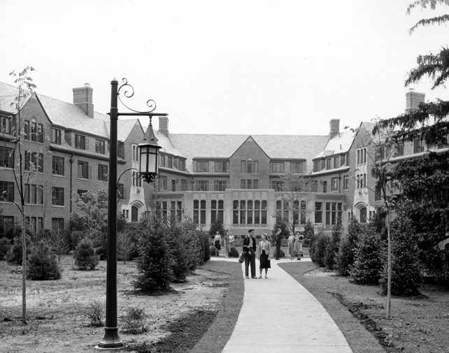Williams Hall, 1940