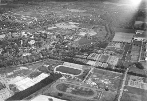 Aerial View of the Stadium, 1939