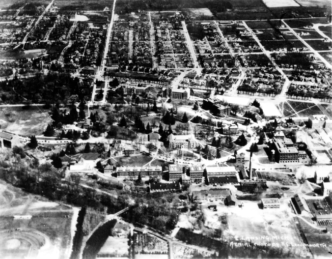 West Circle from the Air, circa 1920s