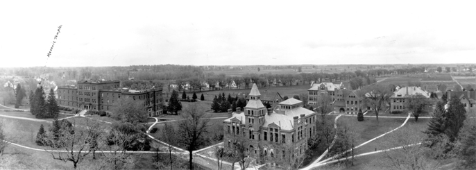 1915 Aerial View of Campus