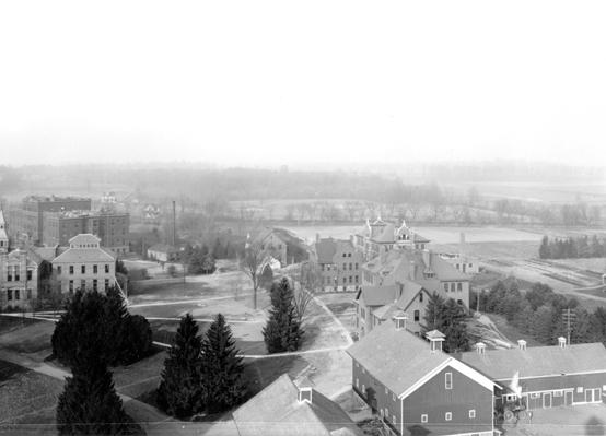 Aerial View of MAC campus, 1903
