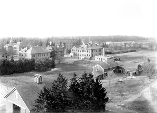 Aerial View of North Campus, 1906