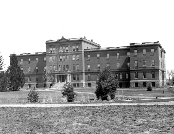 A Front View of Morrill Hall