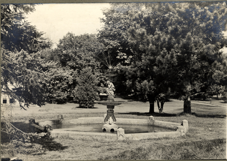Campus Fountain, date unknown