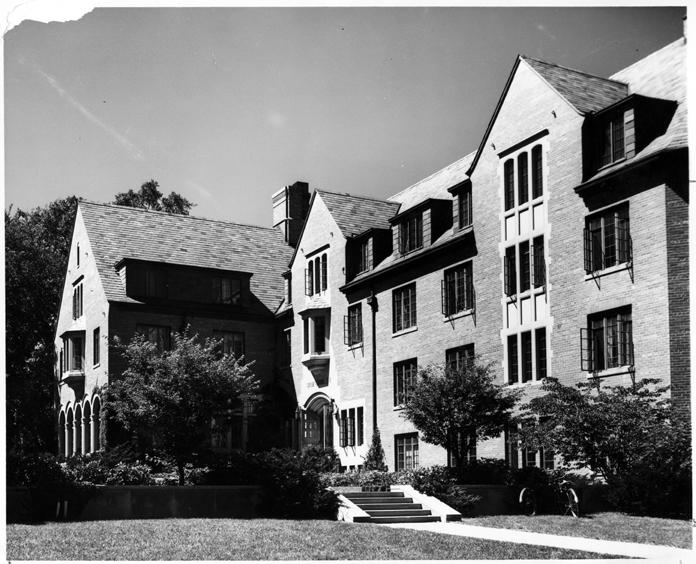 Gilchrist Hall, circa 1955