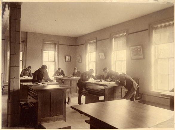 Drawing Room in the Engineering Building, 1893