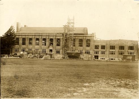 Construction of Women's Gymnasium