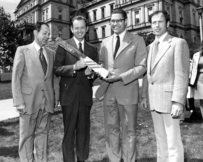 An American Spruce is planted at the Capitol, 1976