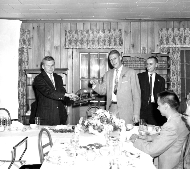 Members of the Forestry Club, 1959