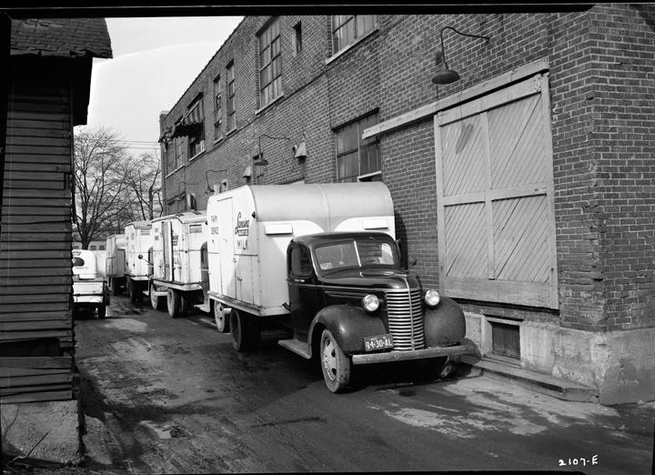 Dairy trucks