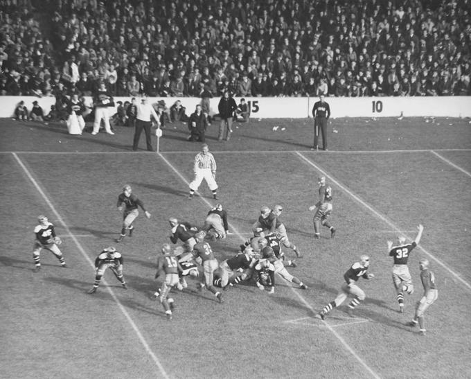 MSU Football Game, 1930s