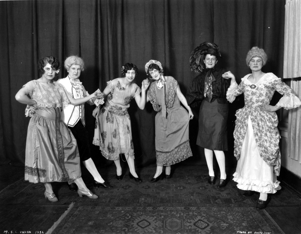 """Cast from Union Revue """"Songs from Yesteryear"""", 1926"""